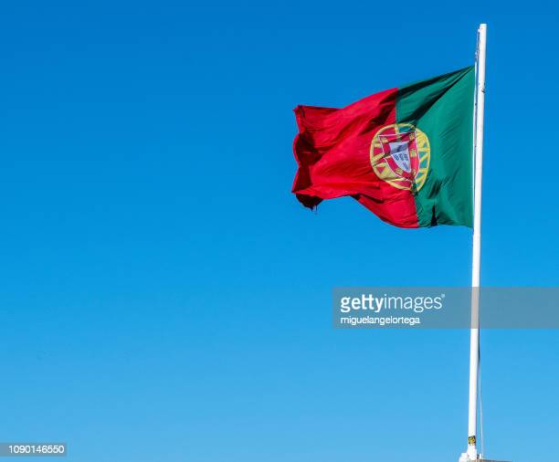 portuguese flag - bandeira de portugal imagens e fotografias de stock