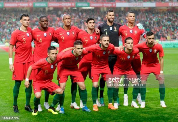 Portuguese football team midfielder Joao Moutinho defender Raphael Guerreiro midfielder Bernardo Silva defender Cedric defender Jose Fonte defender...