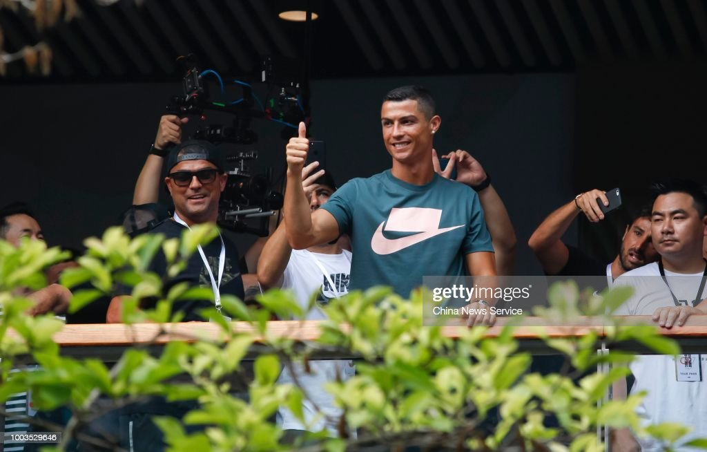 Cristiano Ronaldo's China Tour In Beijing
