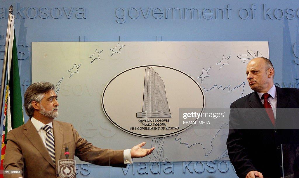 Portuguese Foreign minister Luis Amado ( : Foto di attualità