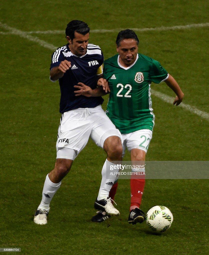 FBL-MEXICO-FIFA-CONGRESS-MATCH : News Photo