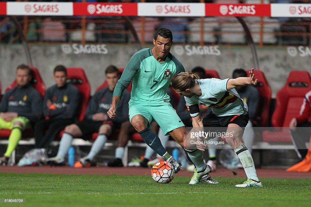 Portugal v Belgium International Friendly : News Photo