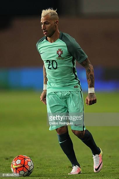 Portuguese forward Ricardo Quaresma during the match between Portugal and Belgium Friendly International at Estadio Municipal de Leiria on March 29...