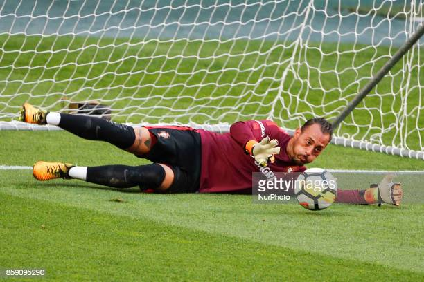 Portuguese goalkeeper Beto Pimparel during National Team Training session before the match between Portugal and Switzerland at Luz Stadium in Lisbon...