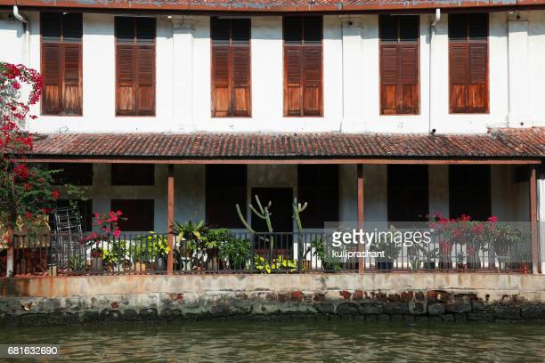 A Portuguese house at Malacca river front