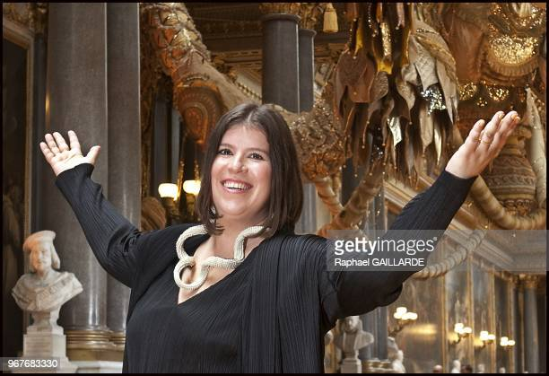 Portuguese Joana Vasconcelos will be the first woman and the youngest artist to present her work on June 18 2012 in the Palace of Versailles in...