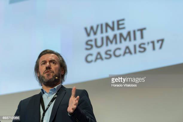 Portuguese journalist and leading wine expert Rui Falcao lectures on Madeira wine during the second day of MUST Fermenting Ideas Wine Summit 2017 on...