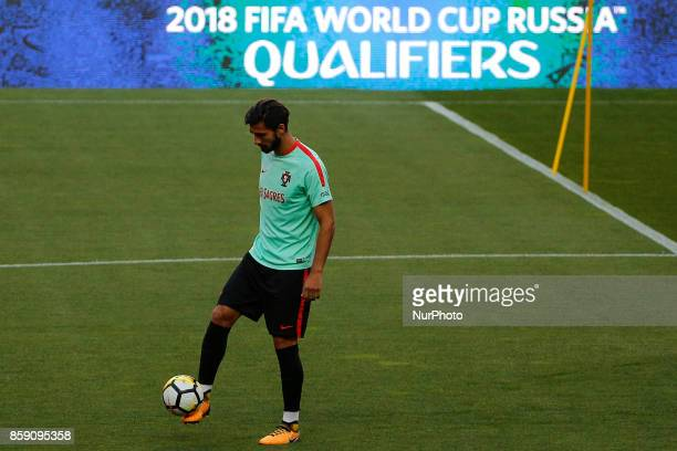 Portuguese midfielder Andre Gomes during National Team Training session before the match between Portugal and Switzerland at Luz Stadium in Lisbon on...