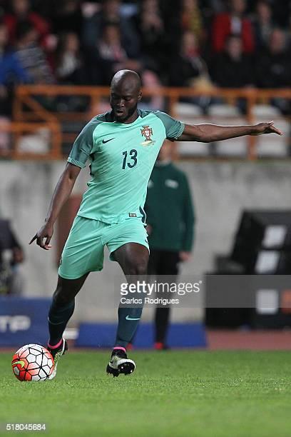 Portuguese midfielder Danilo Pereira during the match between Portugal and Belgium Friendly International at Estadio Municipal de Leiria on March 29...