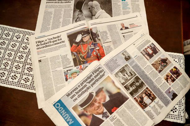 PRT: Portuguese Newspapers The Day After Duke of Edinburgh Died