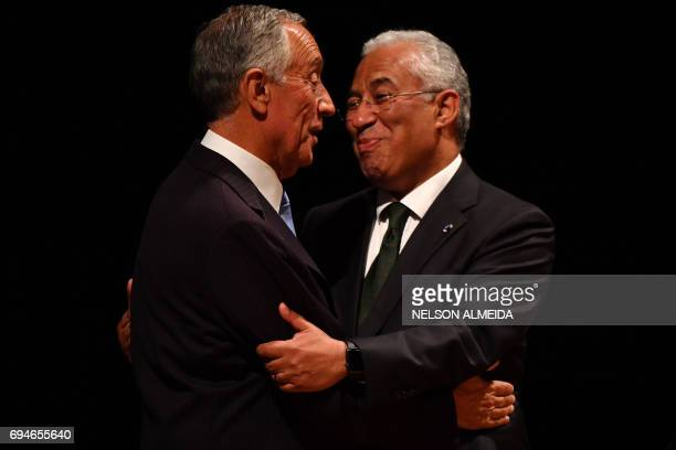 Welcome to brazil in portuguese stock photos and pictures getty images portuguese president marcelo rebelo de sousa and portuguese prime minister antonio costa greet each other during m4hsunfo
