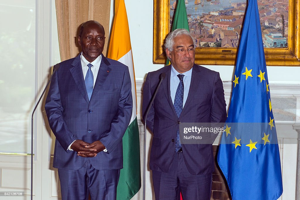 Portuguese Pm Meet The Pm Ivory Coast Photos And Images Getty Images