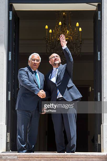 Portuguese Prime Minister António Costa receives the President of the European Parliament Martin Schulz to talk about the current political situation...