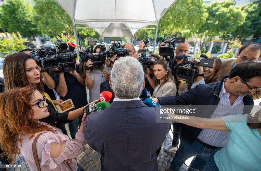 PRT: Portuguese Prime Minister Casts His Ballot For The European Parliament Election