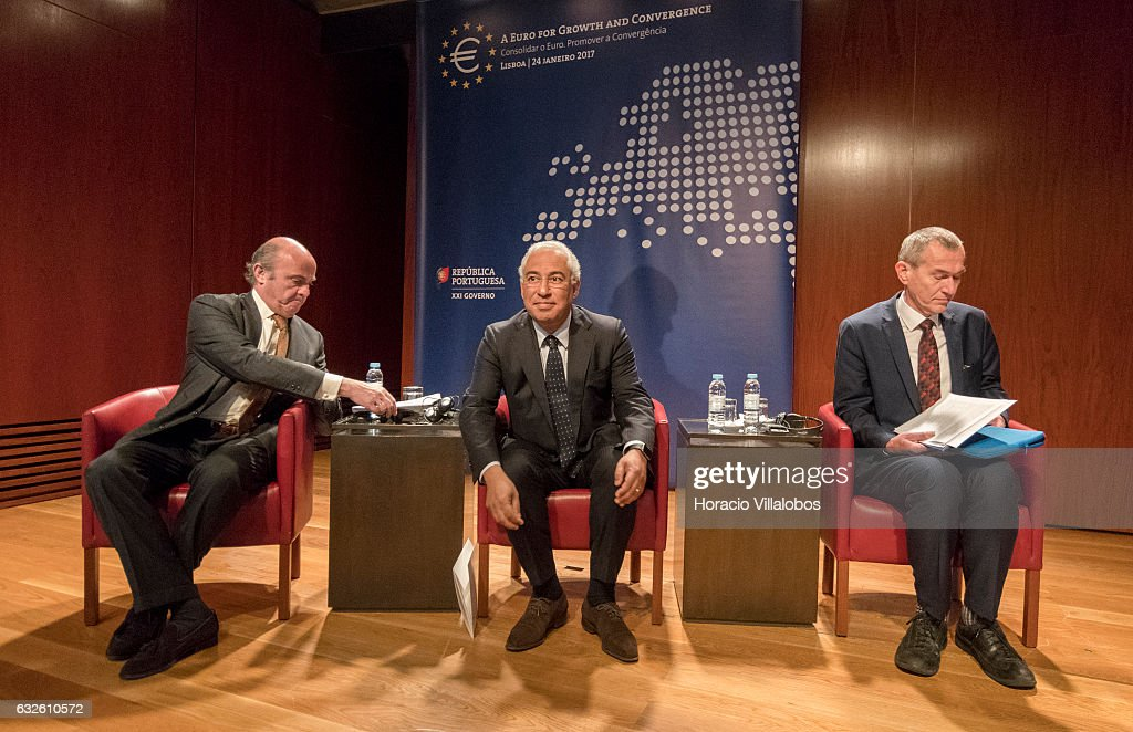 A Euro For Growth And Convergence Seminar Takes Place In Lisbon