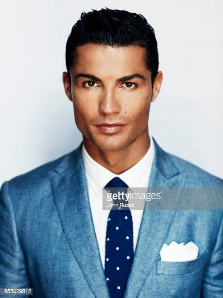 Portuguese professional footballer Cristiano Ronaldo is photographed for Saccor Brothers on August 18 2015 in Madrid Spain