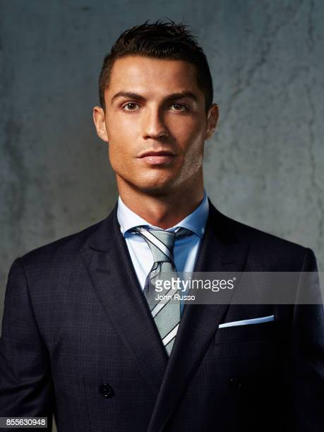 Portuguese professional footballer Cristiano Ronaldo is photographed for Saccor Brothers on December 3 2015 in Madrid Spain