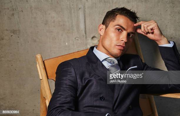 Cristiano Ronaldo Hairstyle Stock Photos And Pictures Getty Images - Cr7 new hairstyle 2014