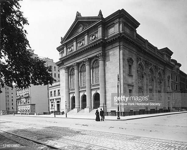 Portuguese Synagogue 8 West 70th Street at Central Park West New York New York 1899