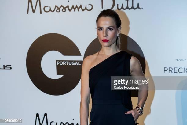 Portuguese TV host Ana Rita Clara attends GQ Men of the Year Awards 2018 at Teatro Sao Jorge on November 17 2018 in Lisbon Portugal