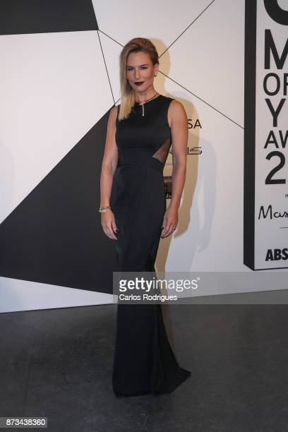 Portuguese TV host Ana Rita Clara during 'GQ Men Of The Year' Awards in Portugal Photocall at Teatro Sao Jorge on November 11 2017 in Lisbon Portugal