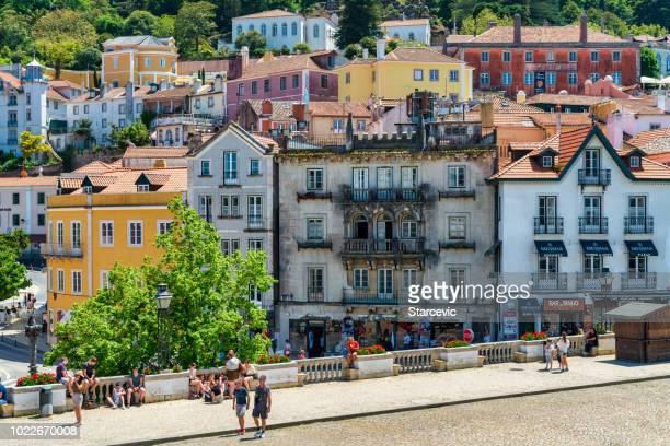 pueblo portugués - sintra - sintra fotografías e imágenes de stock