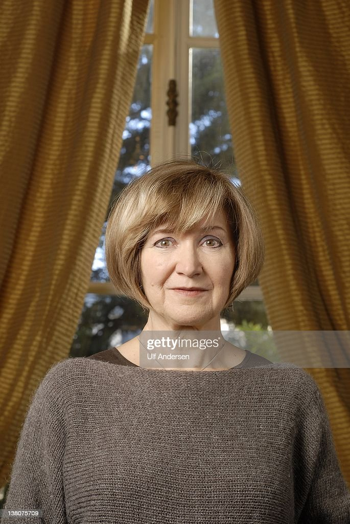 Portuguese writer Lidia Jorge poses during a portrait session held on January 27, 2012 in Paris, France.