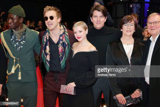 PortugueseGuinean actor Welket Bungue German actor Albrecht Schuch German actress Jella Haase producer Jochen Laube Heidrun Teusner Krol and her...