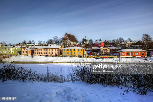 Porvoo, Finland in winter