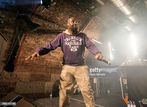 Posdnuos of De La Soul perform on stage at The Arches on May 3, 2014 in Glasgow, United Kingdom.