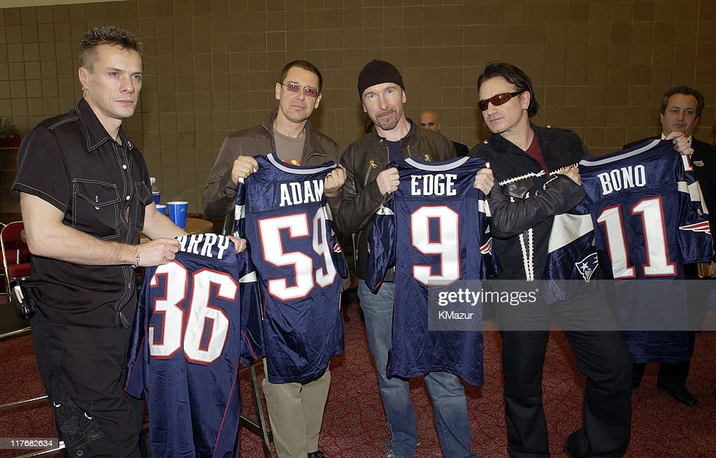 Super Bowl XXXVI - U2 Press Conference