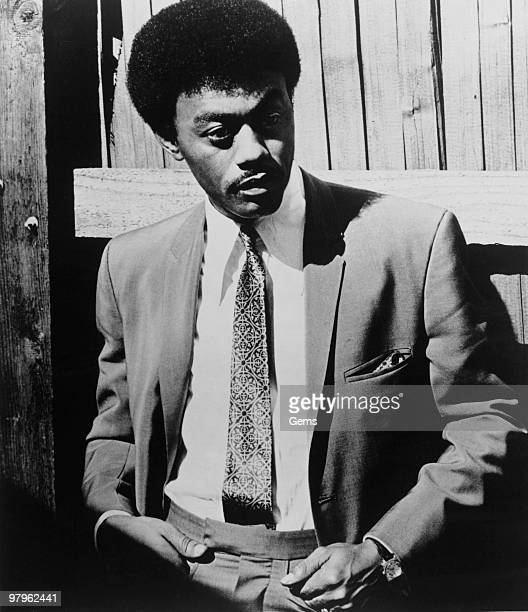 Posed portrait of American singer Johnnie Taylor in 1973