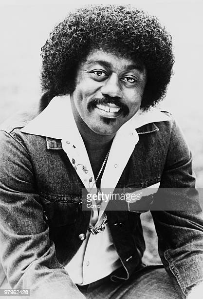 Posed portrait of American singer Johnnie Taylor in 1976