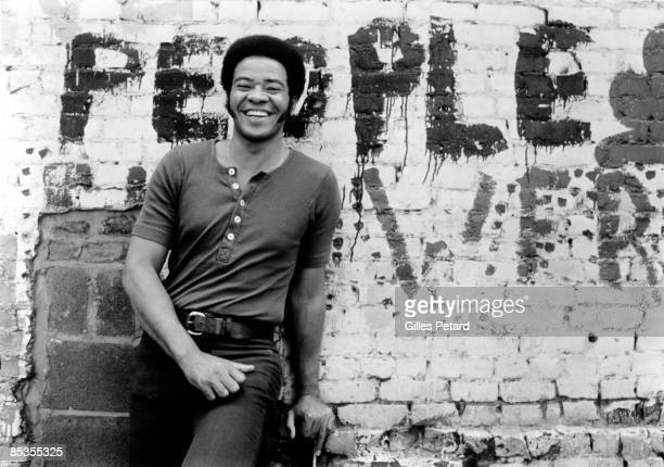 Posed portrait of Bill Withers, 1972.