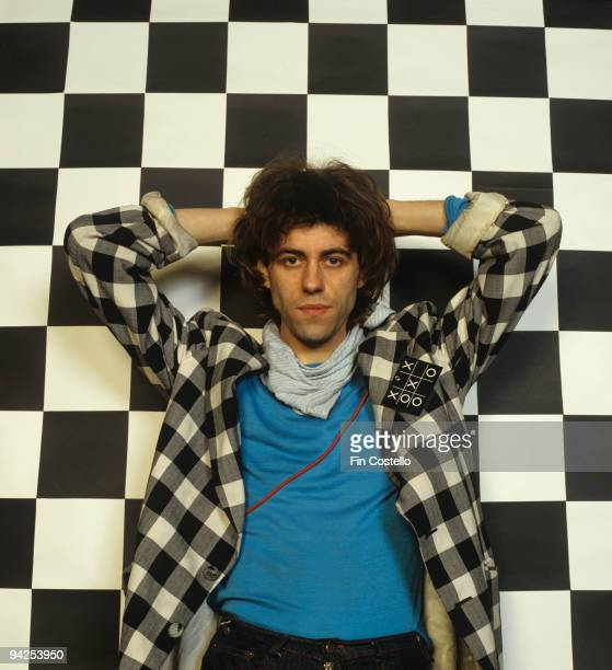 Posed portrait of Bob Geldof lead singer of the Boomtown Rats in October 1979