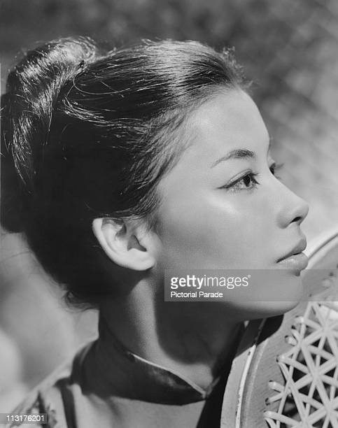 Posed portrait of French actress France Nuyen circa 1960