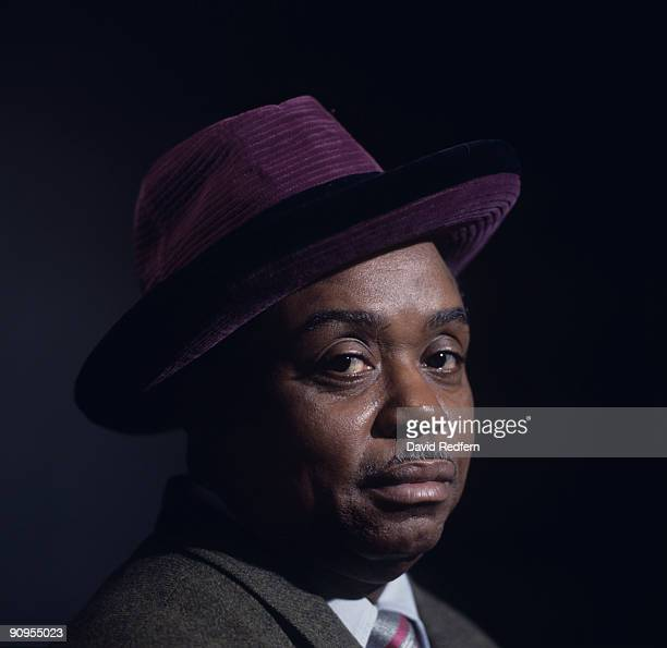 Posed portrait of jazz and blues pianist Sammy Price circa 1960's