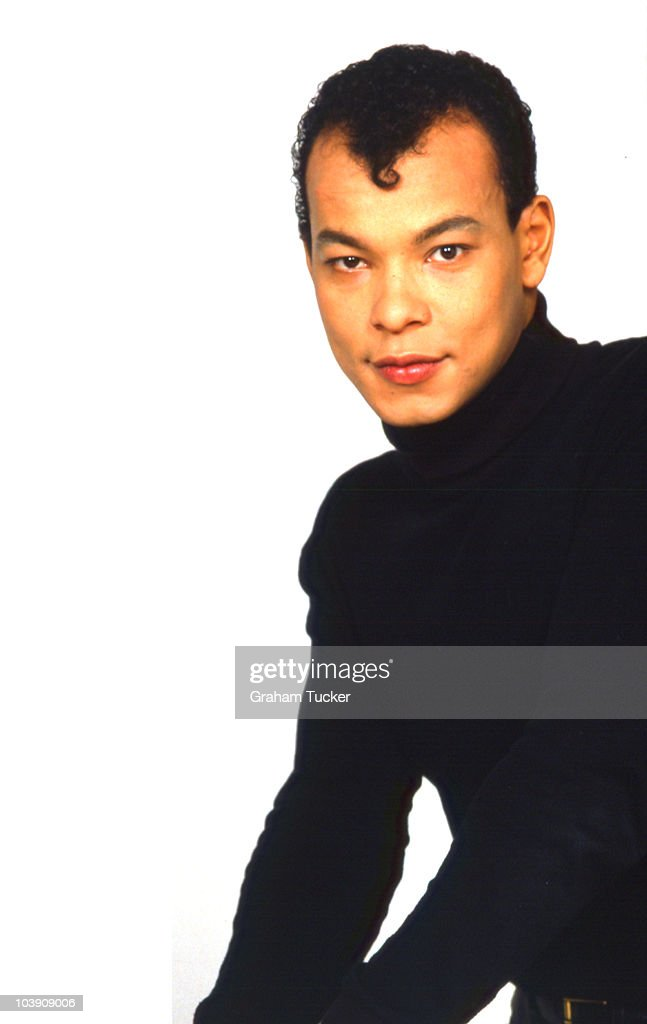 Roland gift posed pictures getty images posed portrait of roland gift lead singer with the fine young cannibals negle Images