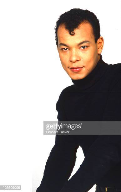 Roland gift stock photos and pictures getty images posed portrait of roland gift lead singer with the fine young cannibals negle Image collections