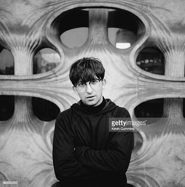 Posed portrait of the Lightening Seeds singer Ian Broudie on January 09 1990