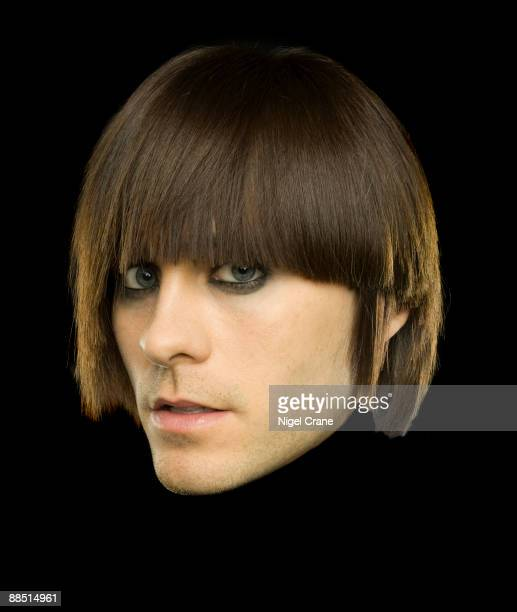 Posed studio portrait of American actor and lead singer of 30 Seconds to Mars Jared Leto in London England on February 5 2008