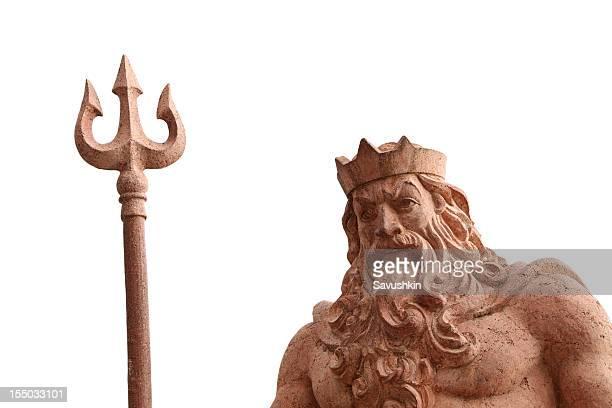 poseidone - mitologia greca foto e immagini stock