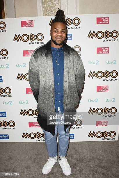 MNEK poses backstage for the PreMOBO Awards Show at Cadogan Hall on October 27 2016 in London England