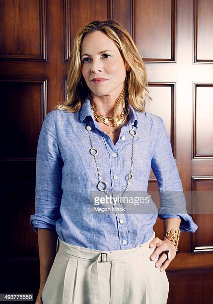 poses for a portrait at TheGrill for The Wrap on October 6 2015 in Los Angeles California