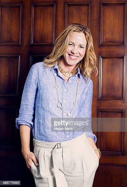 Poses for a portrait at TheGrill for The Wrap on October 6, 2015 in Los Angeles, California.