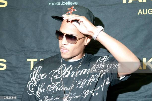 I poses for photographers during a screening of Takers at the AMC Georgetown on August 9 2010 in Washington DC