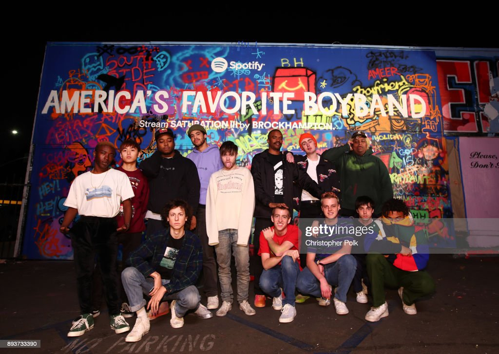 BROCKHAMPTON and Spotify Host an Event for Their Biggest Fans To Celebrate the Launch of Their New Album SATURATION III