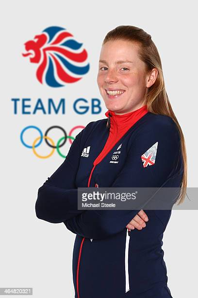 Posey Musgrave of Team GB Cross Country Skiing poses at the Team GB Kitting Out ahead of Sochi Winter Olympics on January 20 2014 in Stockport England