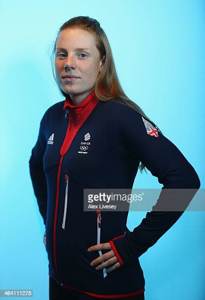 Posey Musgrave of Team GB Cross Country Skiing poses for a portrait during the kitting out day at adidas on January 20 2014 in Stockport England