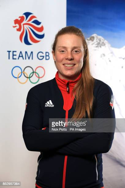 Posey Musgrave of the Cross Country Skiing team of Team GB during the kitting out session at the adidas Centre Stockport